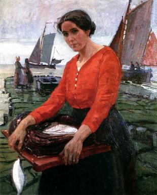 Fischerfrau