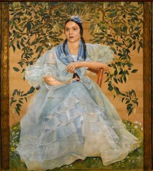 Argentinische Dame von Hedwig Woermann