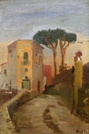Aus dem Italienzyklus von Aline von Kapff