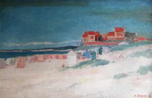 An der Küste der Normandie von Dietz Edzard