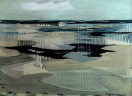 Wattlandschaft von Fritz Kronenberg