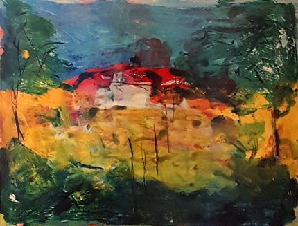 Baumlandschaft von Armin Mueller-Stahl (1930)