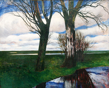 Moorlandschaft von Carl Vinnen