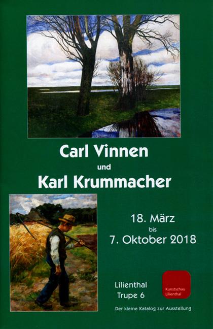 Ausstellungskatalog Carl Vinnen und Karl Krummacher