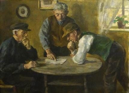 Ausstellungsarchiv - Carl Vinnen & Karl Krummacher - Gemälde zweier Freunde
