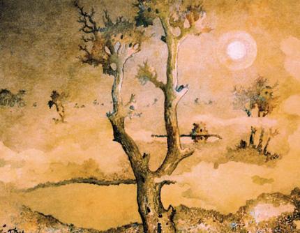 Knorriger Baum von Tetjus Tügel