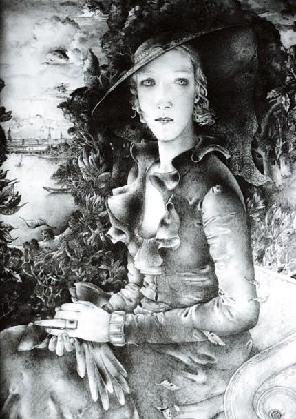 aktuelle Ausstellung - Bildnis Henriette Benthien von Tetjus Tügel