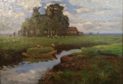Niederdeutsche Landschaft von Sophie Wencke