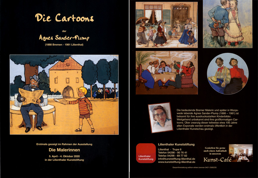 Buch zur Ausstellung Christian Ludwig Bokelmann und sein Schüler Fritz Mackensen